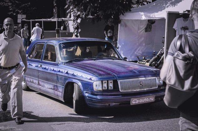 Наши тоже умеют ГАЗ-31029 превратили в стильный лоурайдер