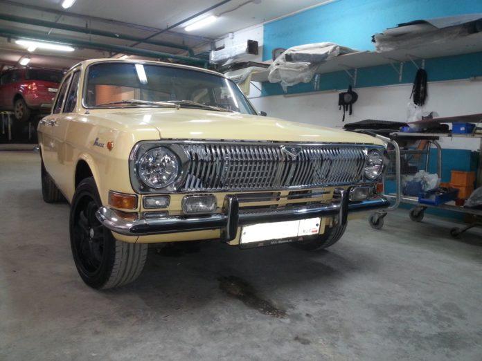 О спортивном ГАЗ-24 «Гром» на базе «Волги» подробно рассказал эксперт