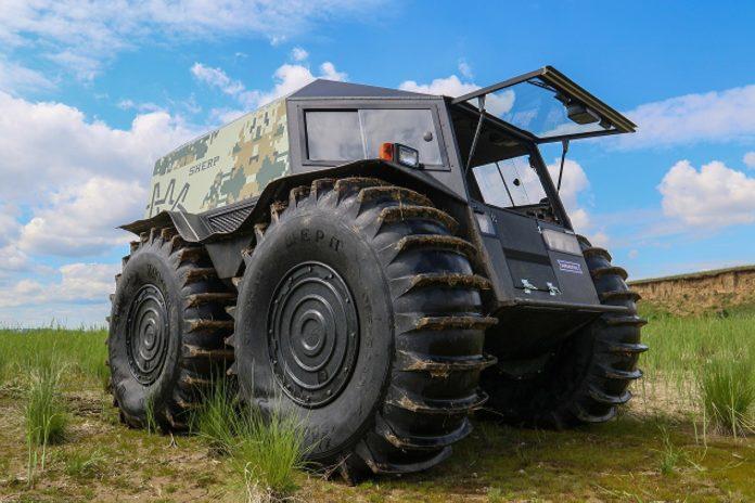 Украинский вездеход показал свои способности необычным способом